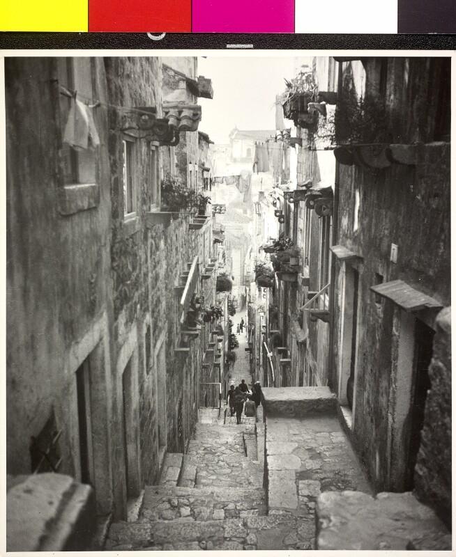 """Ragusa"" Straßenzug in Dubrovnik"