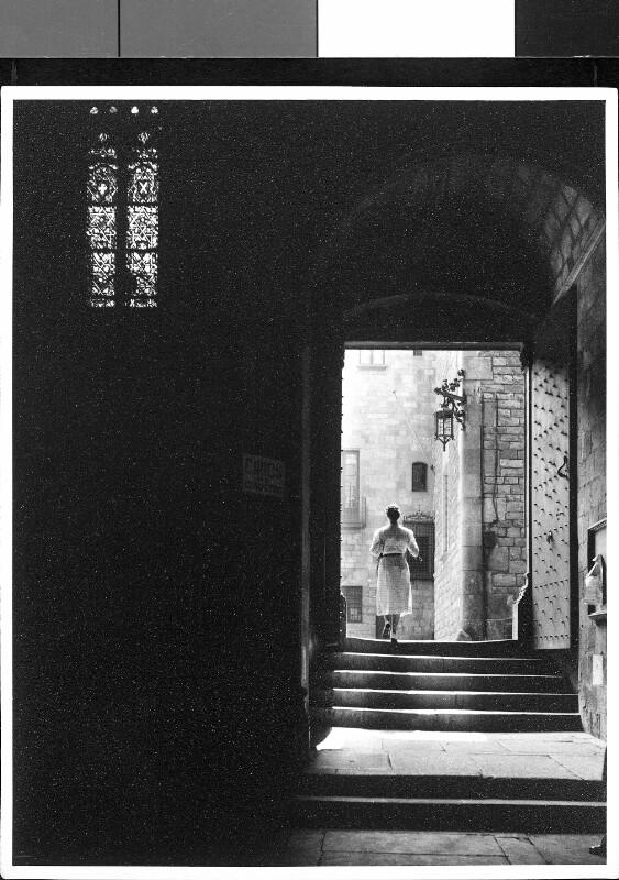 Portal einer Klosterkirche in Spanien