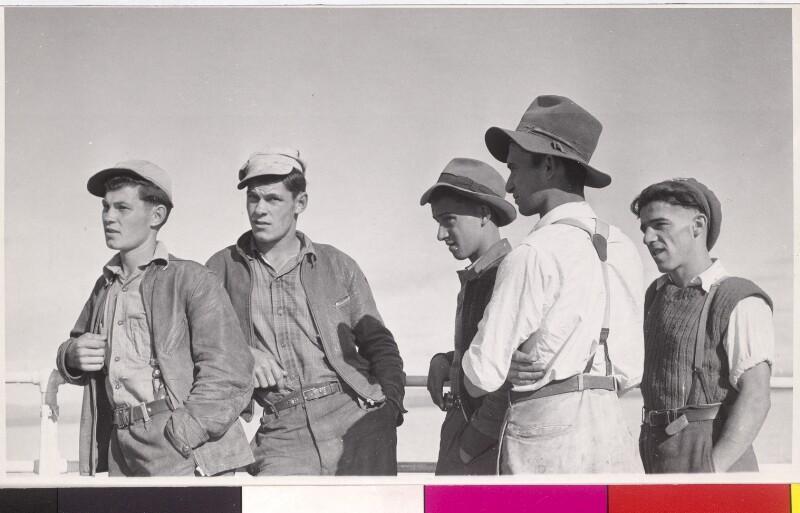 Gruppe junger Männer, USA