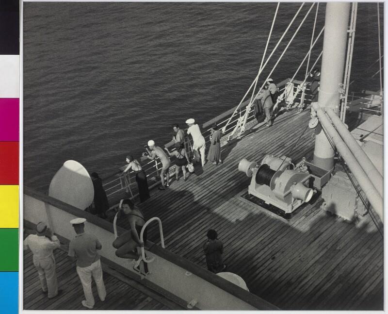 """An Bord der """"Ozeania"""""""
