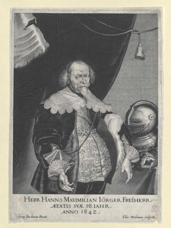 Jörger, Johann Maximilian Freiherr