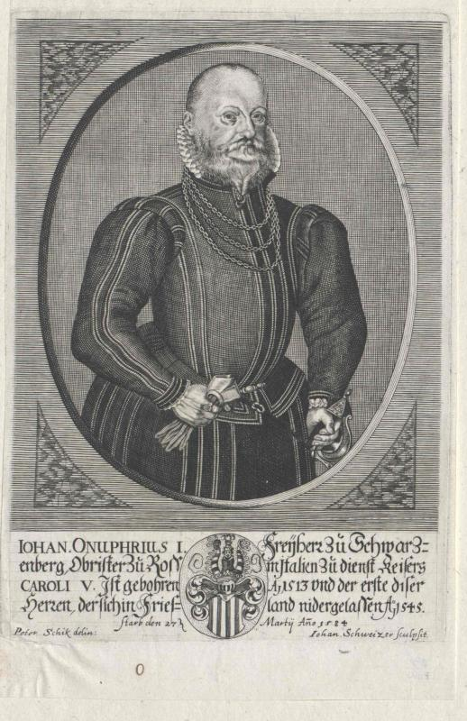 Schwarzenberg, Johann Onuphrius I. Freiherr zu