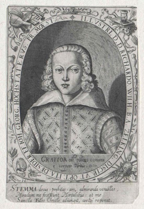 Zelking, Reichard Wilhelm Herr von
