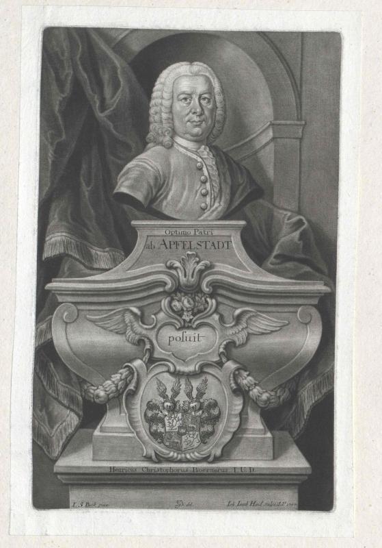 Apfelstadt, Ernst August von