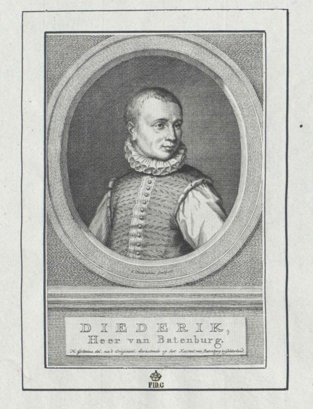 Bronckhorst, Herr von Batenburg, Dietrich von