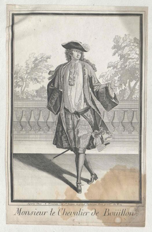 La Tour d'Auvergne, dit le Prince d'Auvergne, Frédéric Jules