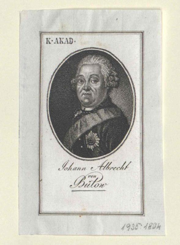 Bülow, Johann Albrecht von