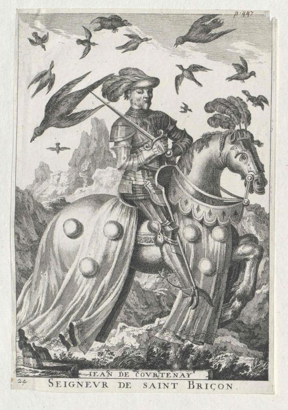 Courtenay, Baron de Saint-Brisson, Jean (IV.) de