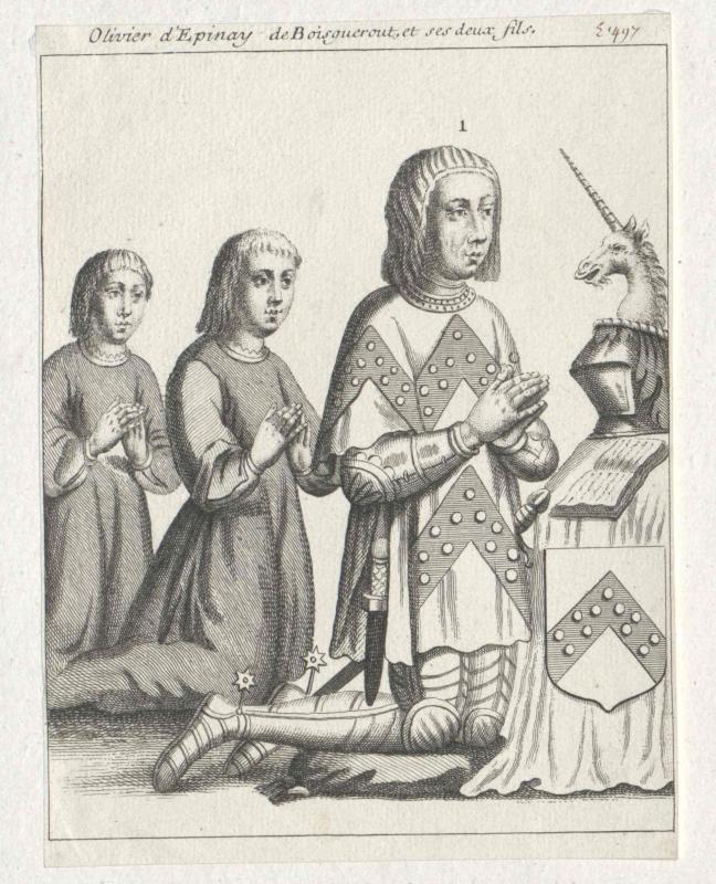 Espinay, Seigneur de Boisgueroust, Olivier d'
