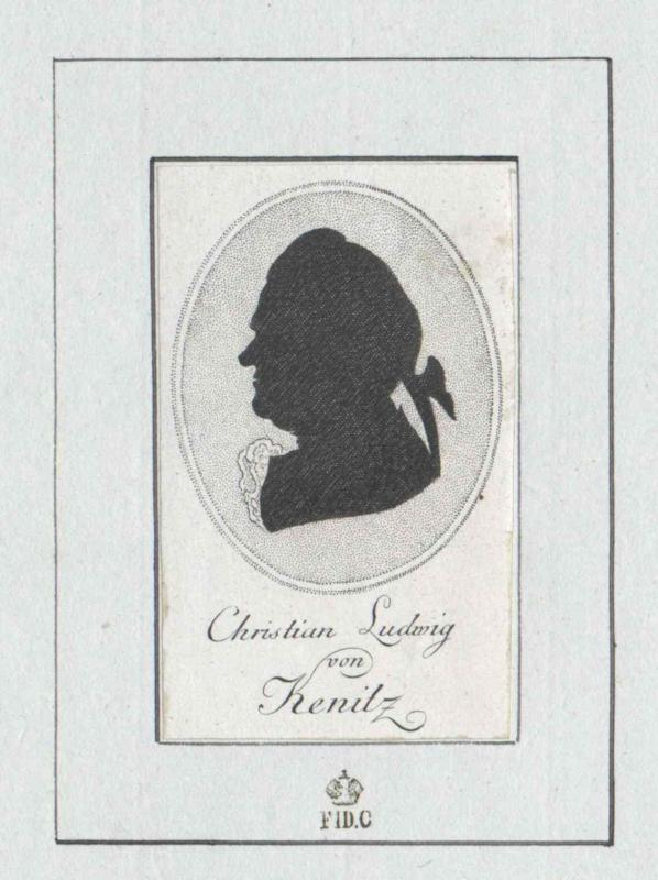 Kenitz, Christian Ludwig von