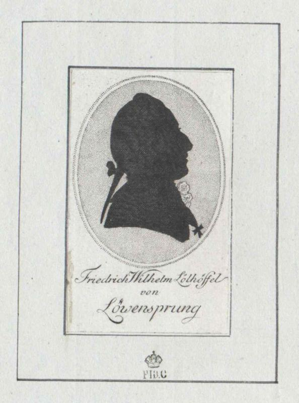 Lölhöffel von Löwensprung, Friedrich Wilhelm