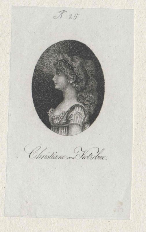 Krusenstern, Christine Gertrude von