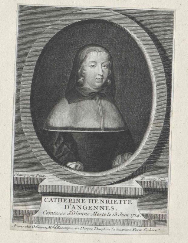 Angennes, Cathérine Henriette d'