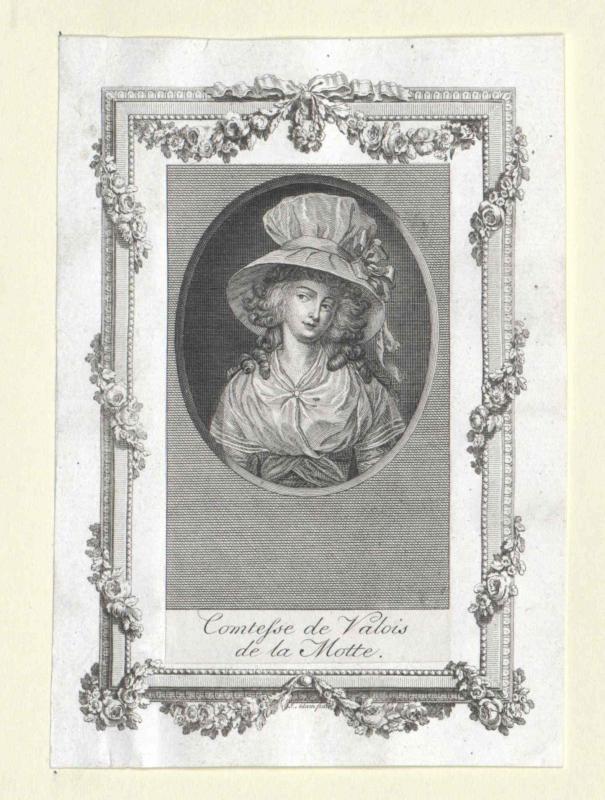 Lamotte, Jeanne Comtesse de