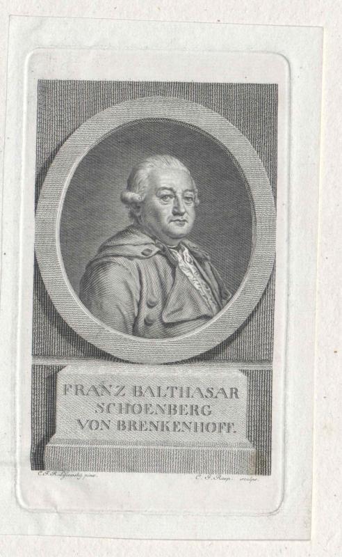 Brenkenhoff, Franz Balthasar Schönberg von
