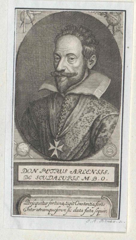 Arlensis de Scudalupis, Petrus