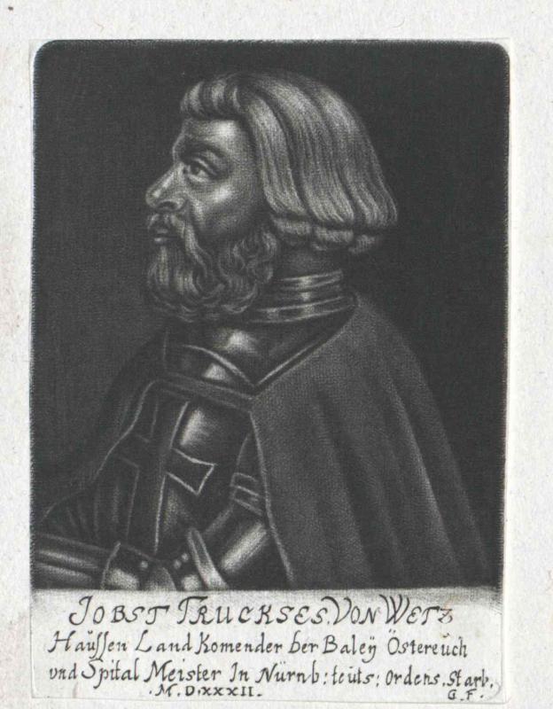Weczhausen, Jost Truchsess von