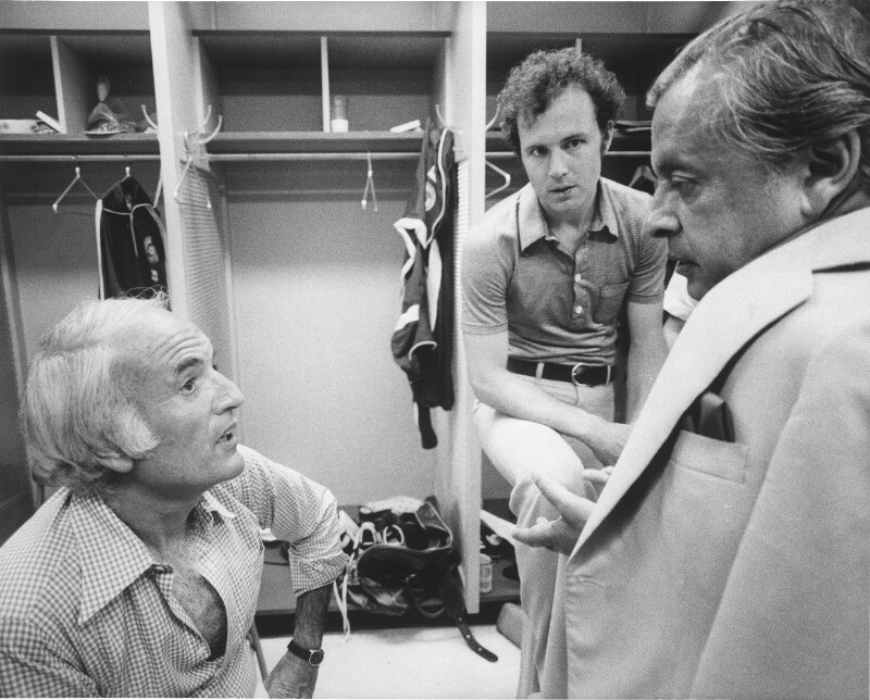 Beckenbauer und Steve Ross