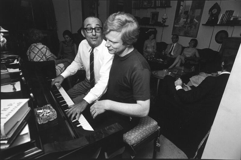 Gulda und Mulligan am Klavier