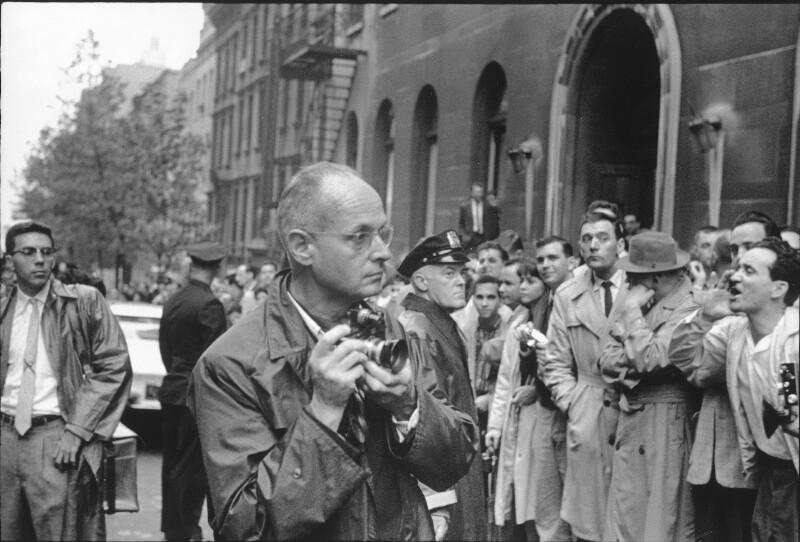 Cartier-Bresson mit Kamera