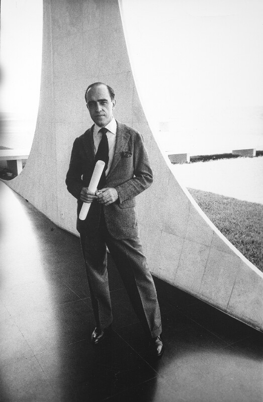 Oscar Niemeyer in Brasília