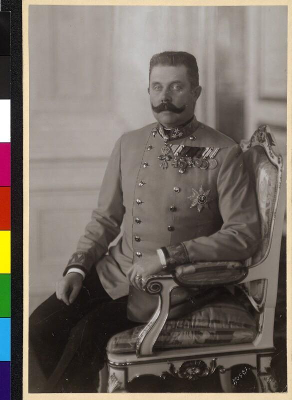 Bildnis Franz Ferdinand, Erzherzog von Österreich-Este