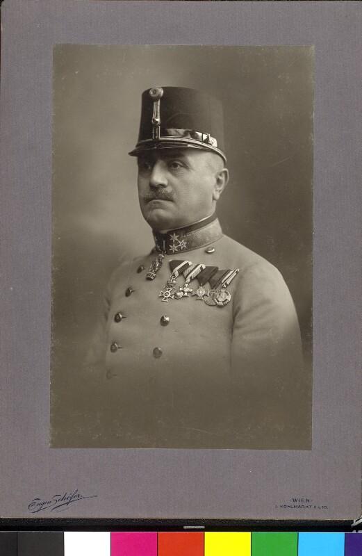 Bildnis Paul Freiherr Puhallo von Brlog