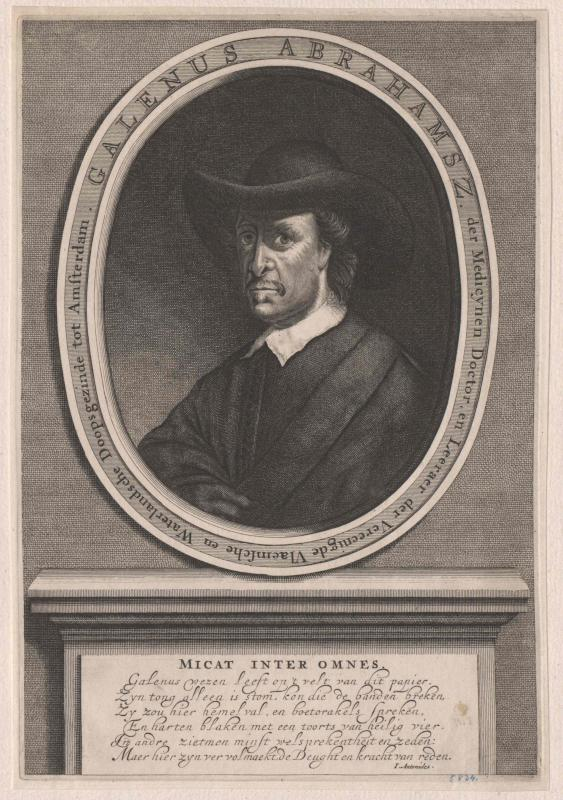 Abrahamsz de Haan, Galenus