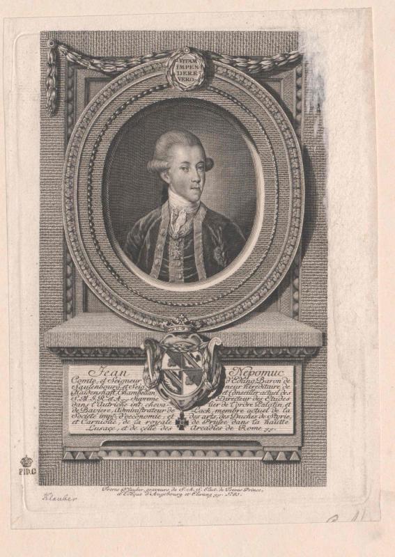 Bildnis Johann Nepomuk Graf von Edling (1747-1793)