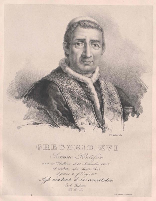 Gregor XVI., papa