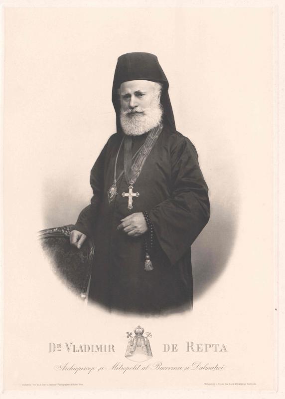 Repta, Vasile Vladimir von, Erzbischof von Czernowitz