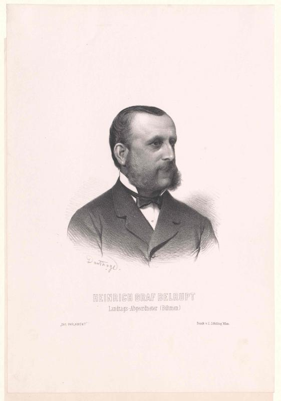 Belrupt, Heinrich Graf