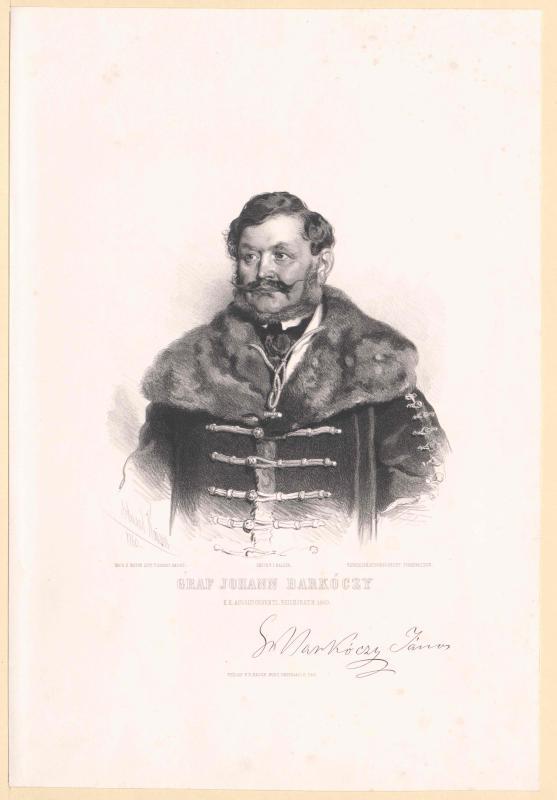 Barkóczy-Szala, Johann Graf