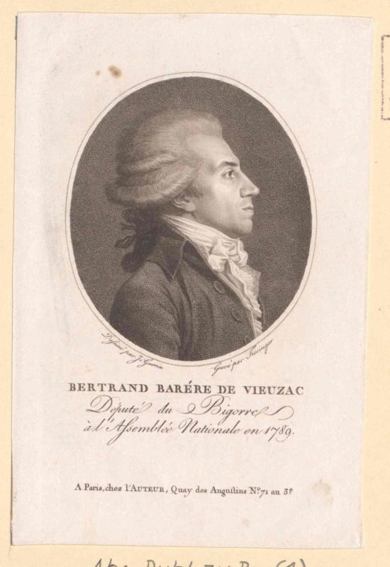Barère, Bertrand