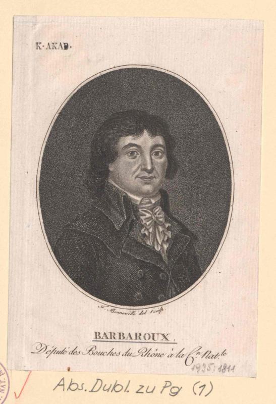 Barbaroux, Charles Jean