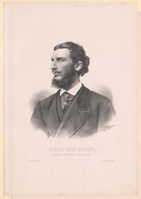 Apponyi-Nagy-Appony, Albert Graf