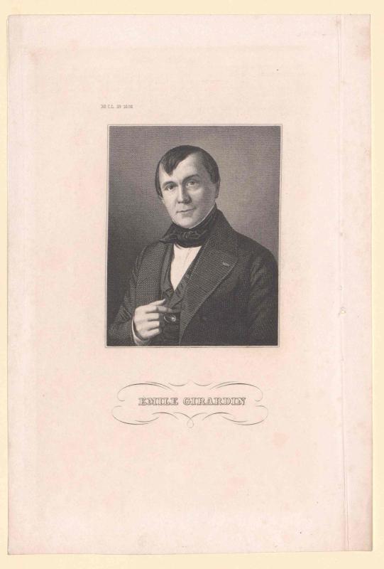 Girardin, Emile de