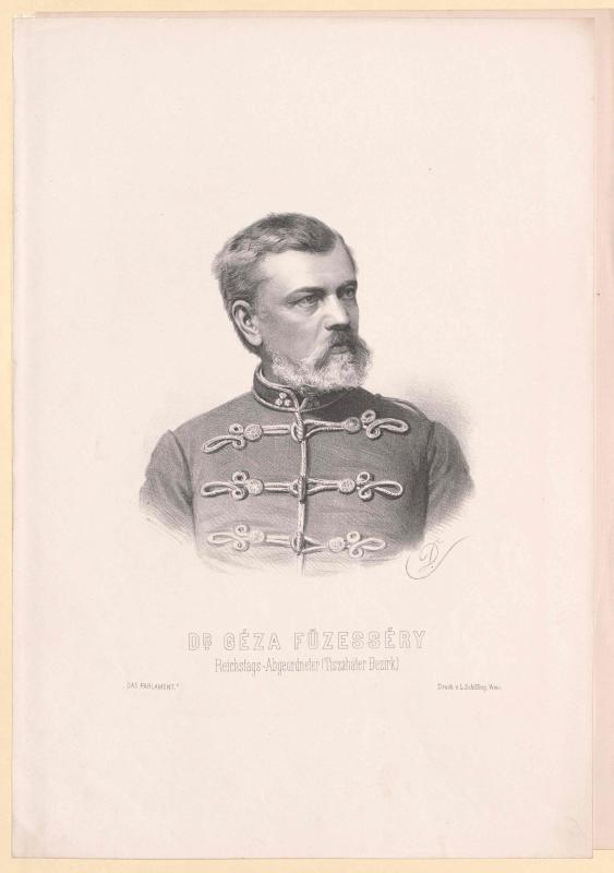 Füzesséry, Géza von