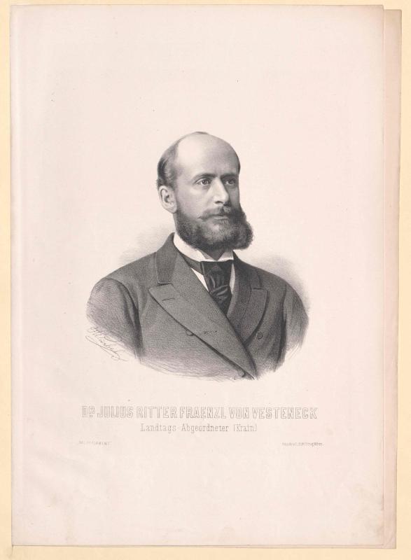 Fraenzl-Vesteneck, Julius Ritter
