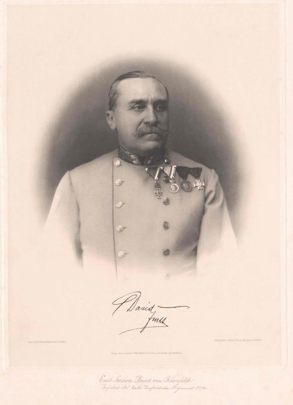 David von Rhonfeld, Emil Freiherr