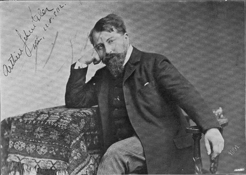 Bildnis Arthur Schnitzler (1862-1931)