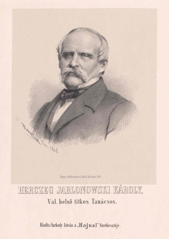 Jablonowski, Karl Fürst