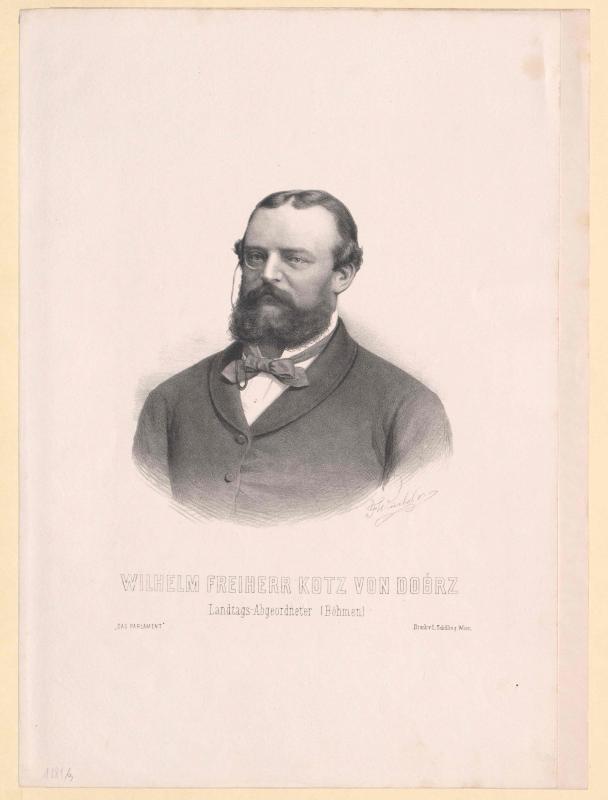 Kotz-Dobrz, Wilhelm Freiherr