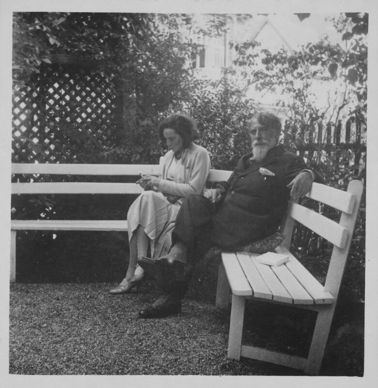 Elisabeth Bergner und Arthur Schnitzler