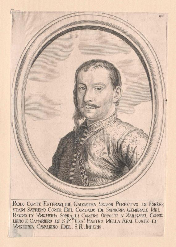 Esterházy von Galántha, Paul Fürst