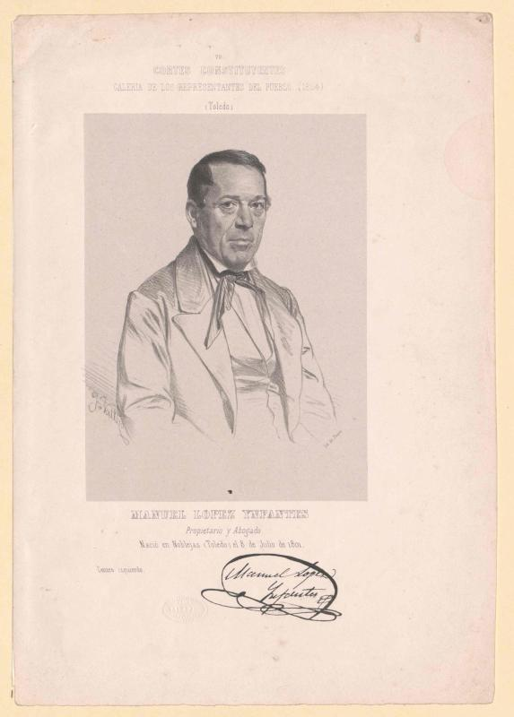Ynfantes, Manuel Lopez