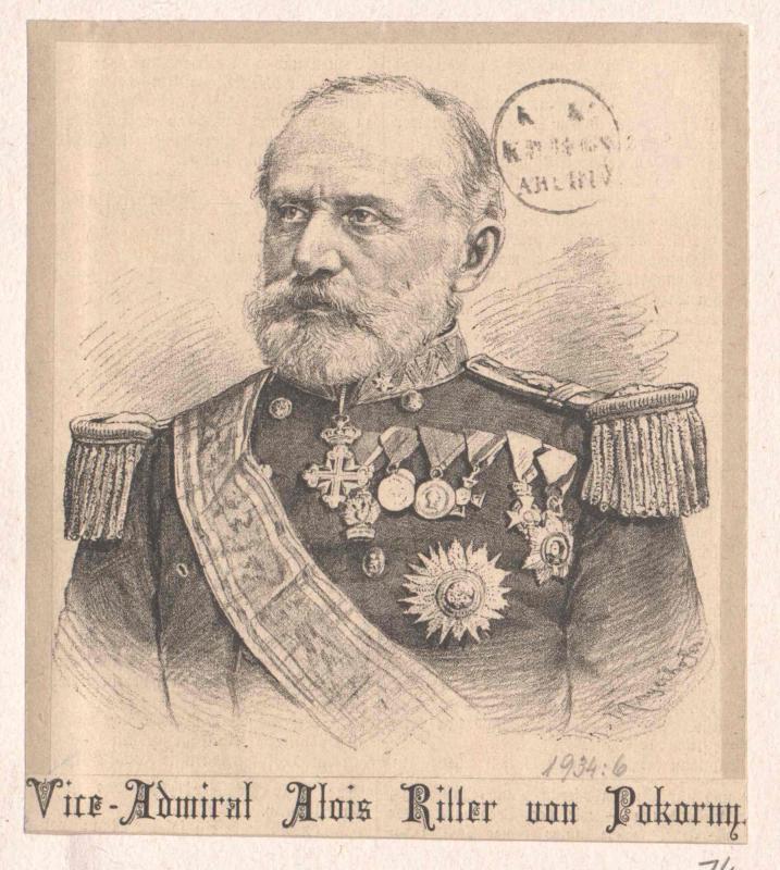 Pokorny, Alois Ritter von