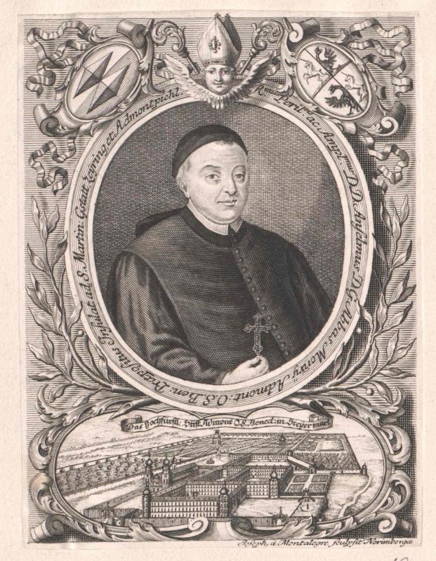 Anselm Lürzer von Zechenthal, Abt von Admont