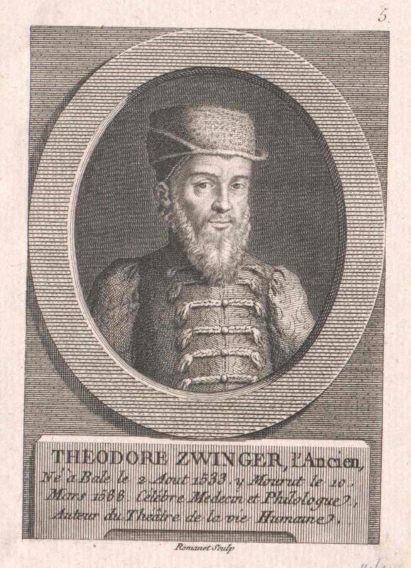 Zwinger d.Ä., Theodor