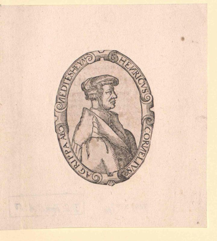 Agrippa von Nettesheim, Heinrich Cornelius